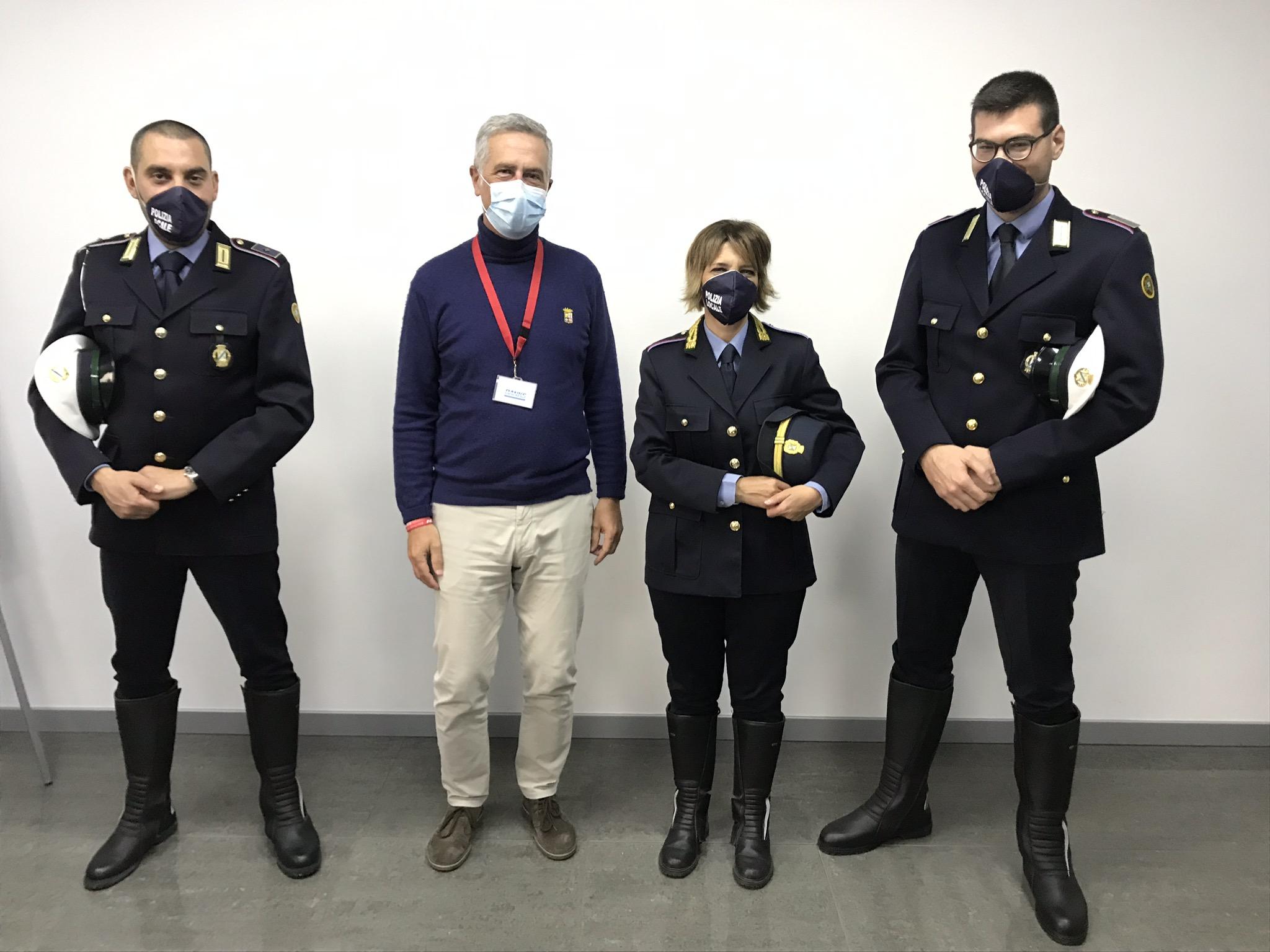 Agenti Polizia Locale Caronno Varesino